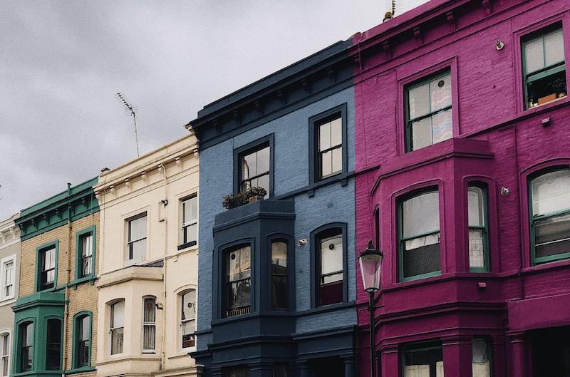 London-colourful-houses