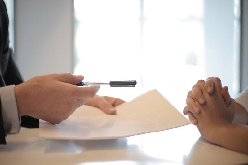 Default-on-a-loan